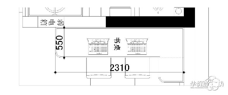 我家书桌的设计图