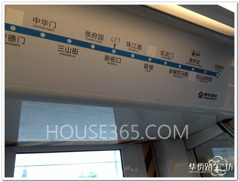 南京地铁路线图(1号线站内)已经更新:3号线,10号线,宁