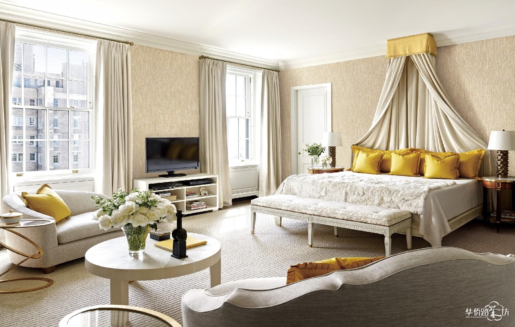 不同风格的墙布装修图!美美的!