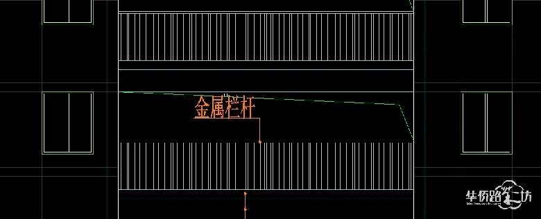 设计cad图纸也是铁艺栏杆