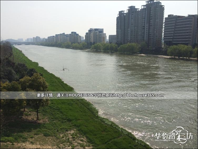 湄潭河滨大道风景图片