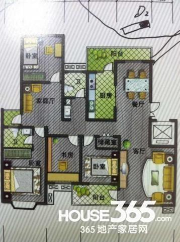 望湖城日桂苑 精装修 证满两年无税 学区房 精品四房两厅两卫