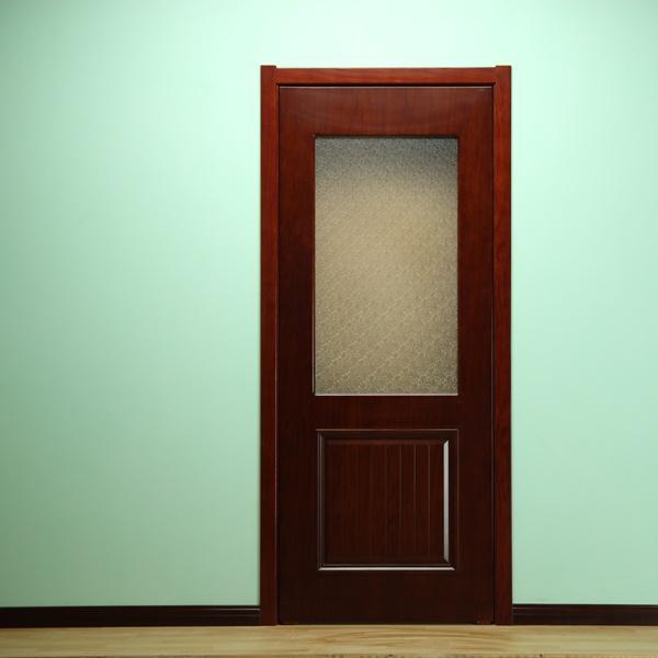 一亩地木门a190132烤漆门实木复合室内门包安装