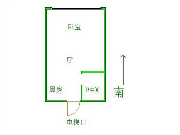 【我爱我家 全优房源】 城开精装 三初学区 电梯出口位置 火瓦巷