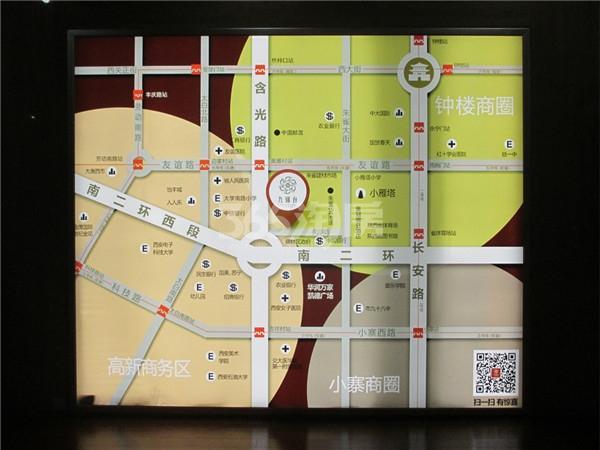 九锦1号区位图