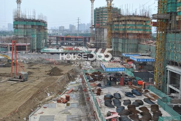 启迪协信无锡科技城实景图(2014.5.24)