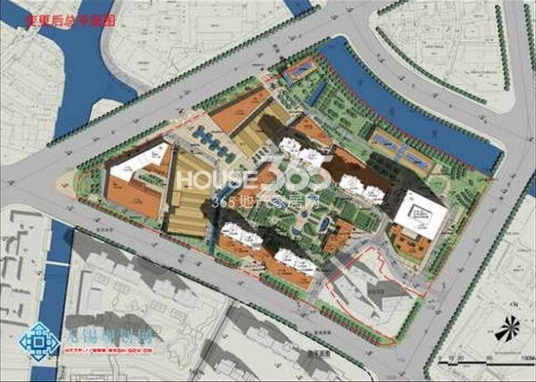 绿地西水东中央生活区5#地块规划图