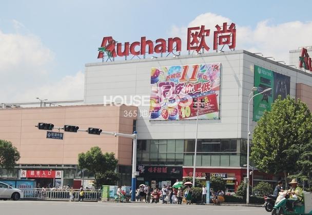 华强城美加印象周边商业:欧尚超市等