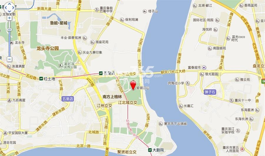 中海紫金汇交通图