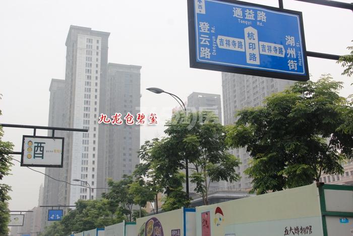 九龙仓碧玺实景图
