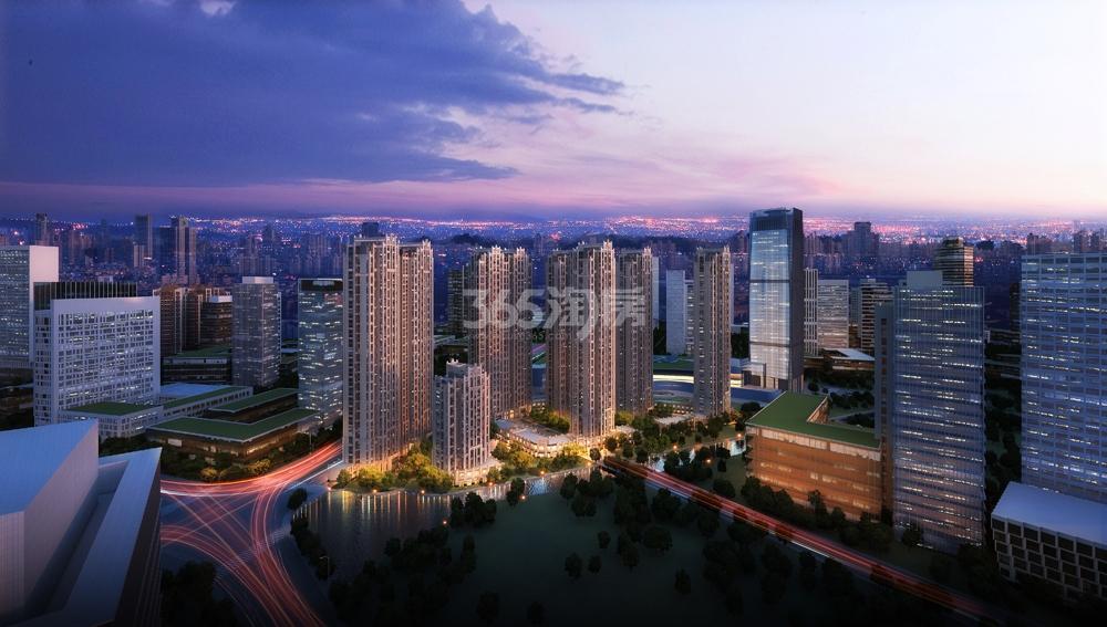 理想银泰城项目整体效果图