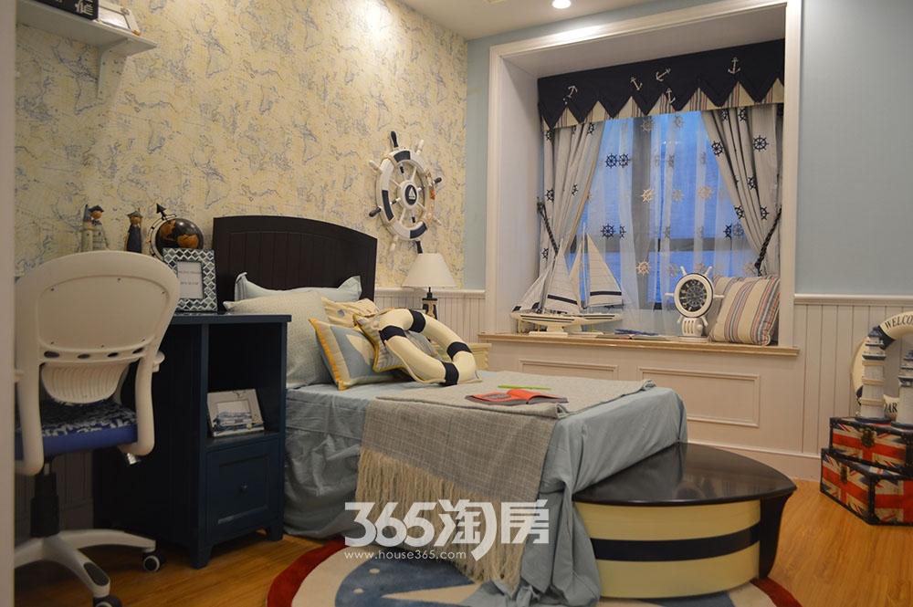 中环云公馆88㎡样板间卧室
