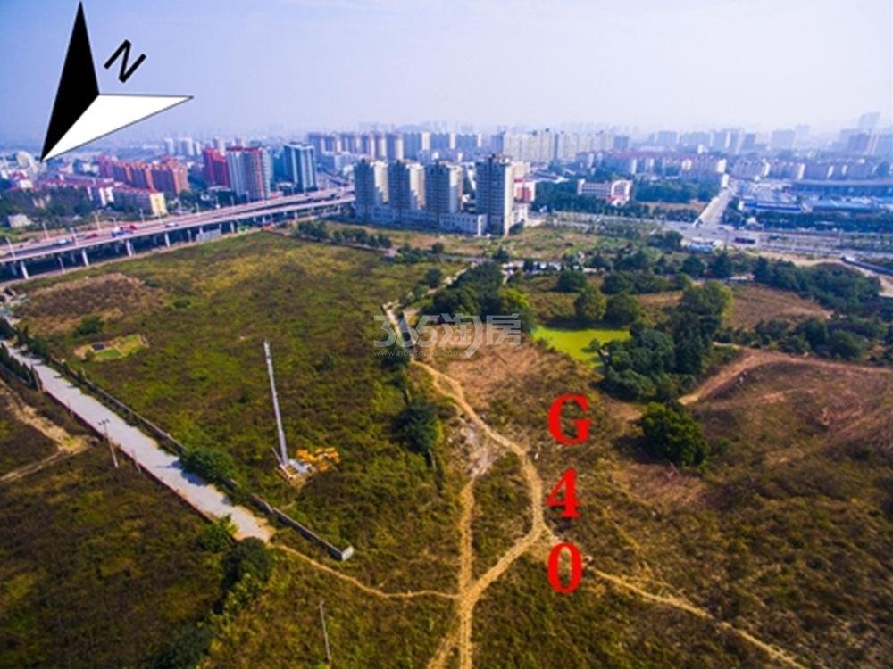 万科南站G40地块实景图