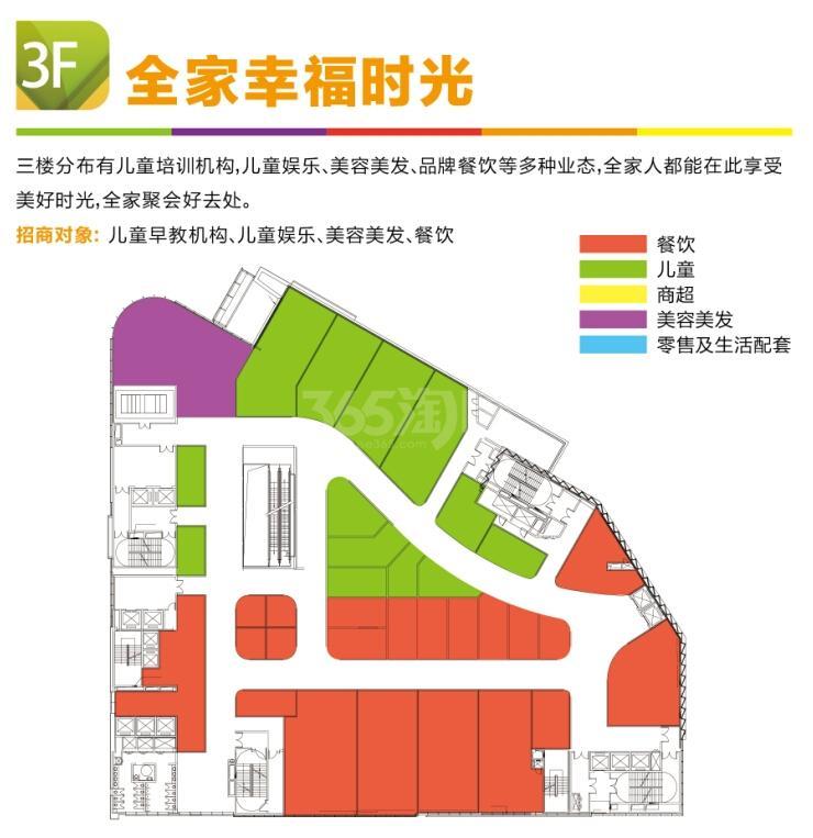 利华广场三楼平面业态分布图