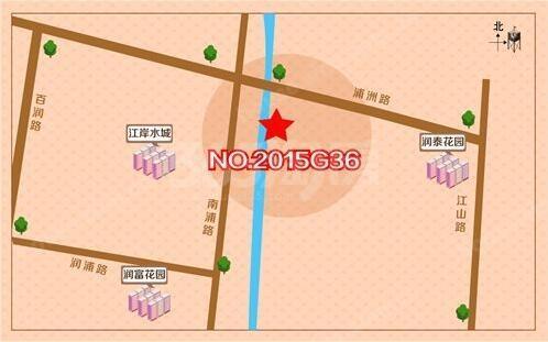 大华锦绣时代交通图