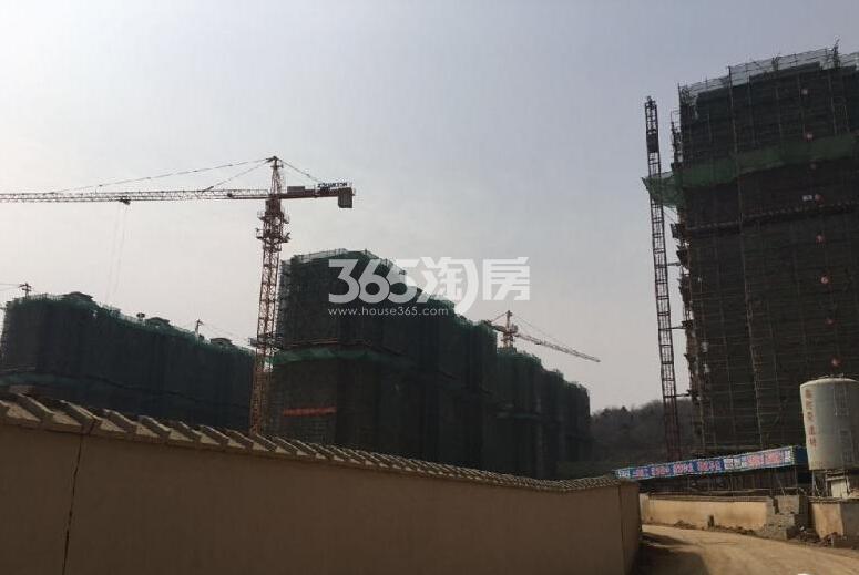 银亿东城在建楼栋实景图(3.14)