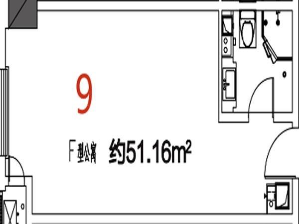 09户型51.16平米