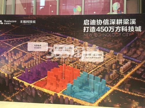 启迪协信无锡科技城规划图
