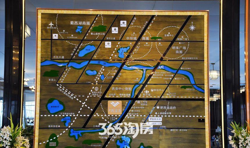 文一西溪湾售楼部内景(2017.02)