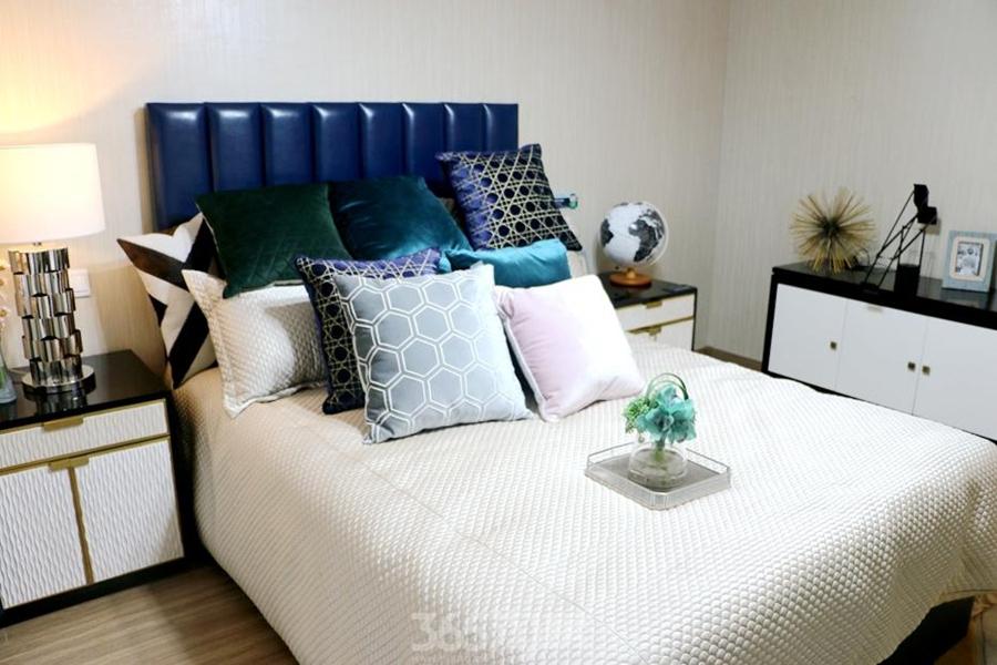 万科海上传奇滨江悦90平样板间—卧室