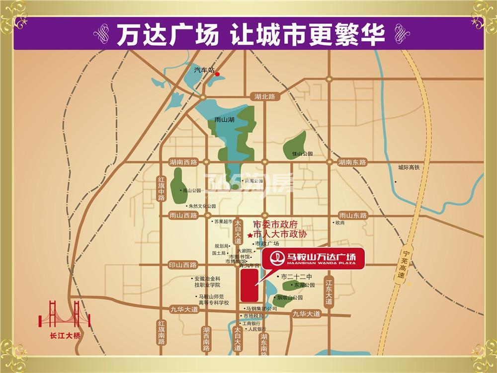 荣府1号交通图