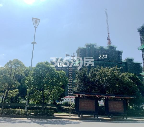 西溪碧桂园一期22#楼高层实景(2017.9)