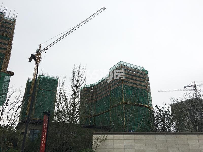 2017.9.29招商远洋春秋华庭部分楼栋实景