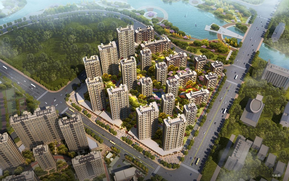 上实海上海(二期)上实海上海二期鸟瞰图