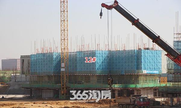 西子曼城12#楼工程进度实景图(2017.12.25)