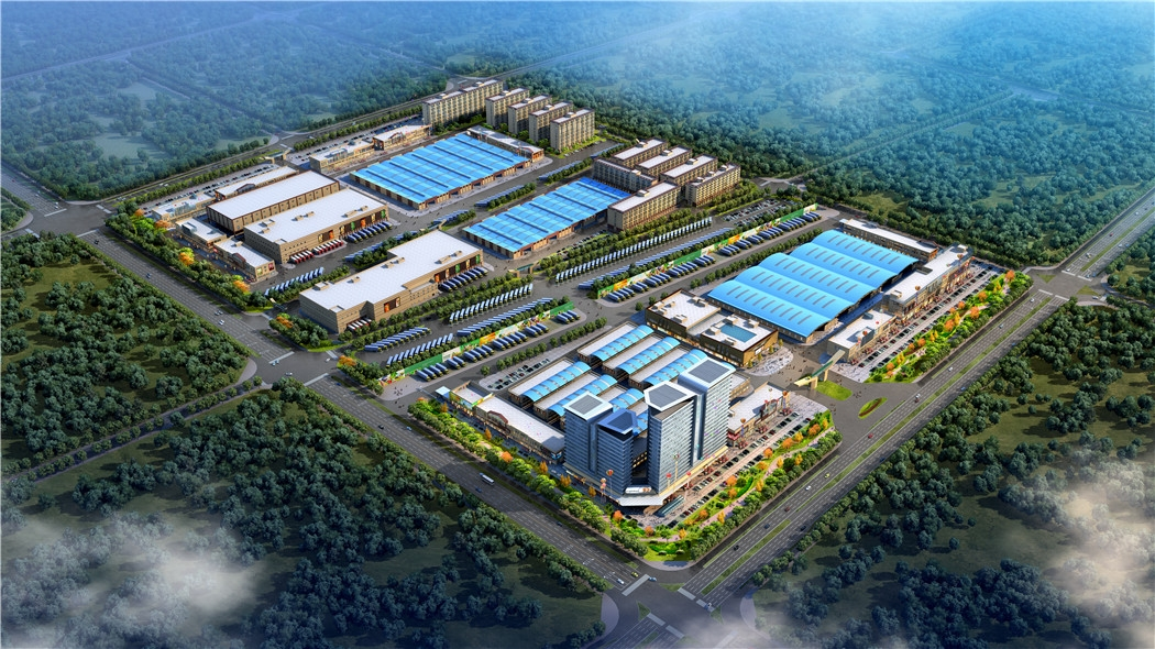 中垦流通国际领寓项目鸟瞰图