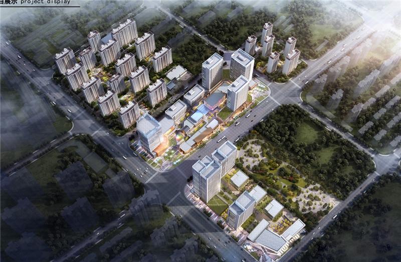 徐州百悦城鸟瞰图